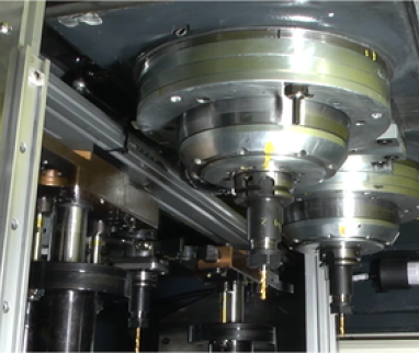 Twin-spindle VMC